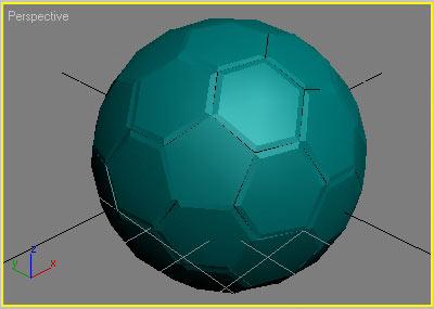 Как сделать мяч 3d max
