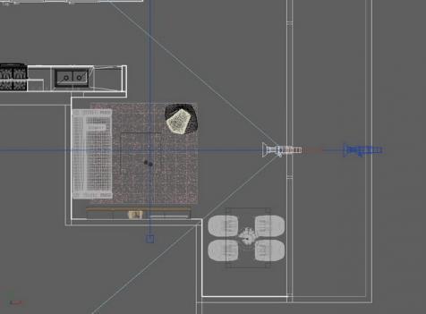 Техника просчёта и композиции интерьеров