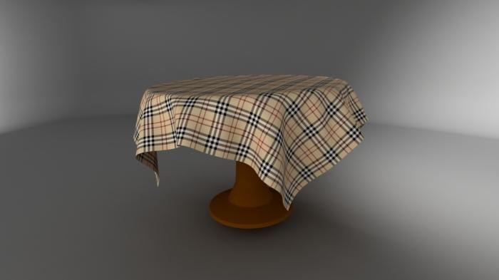 Создание ткани в 3d max модификатором Cloth