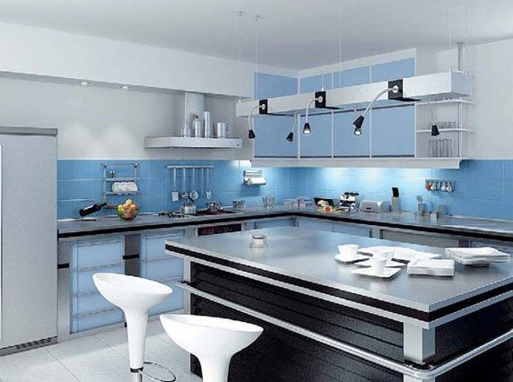 3D модель - Кухня модерн