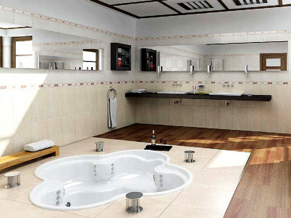 3ds Max модель - Ванная комната
