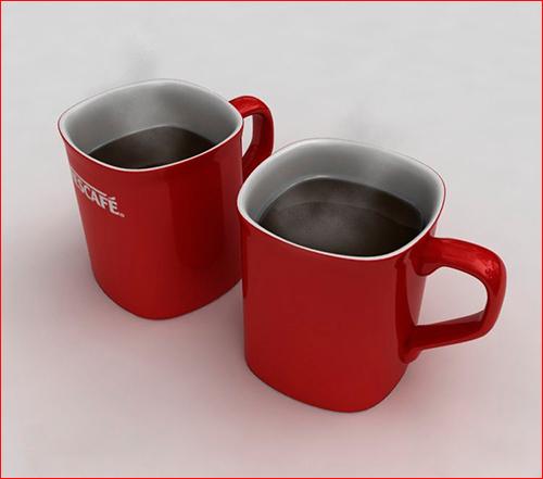 3d model - Nescafe cup