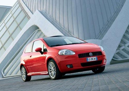 3ds Max модель Fiat Punto
