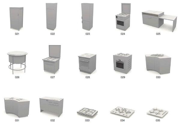 Archmodels vol.10 -  3d модели все для кухни