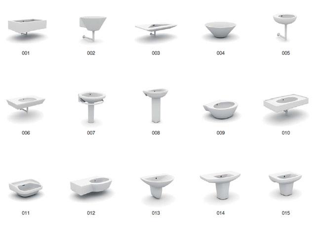 Archmodels vol.6 -  3d модели для ванной комнаты