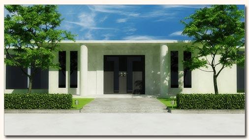 3D модель - Дом