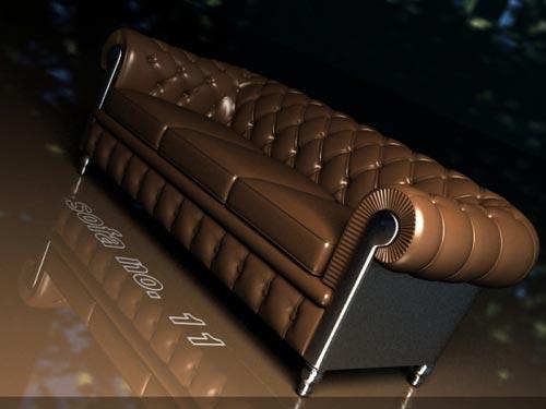3ds Max модель - Sofa