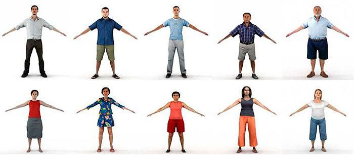 3ds Max people