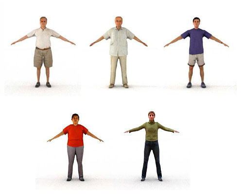 3ds Max people vol.6