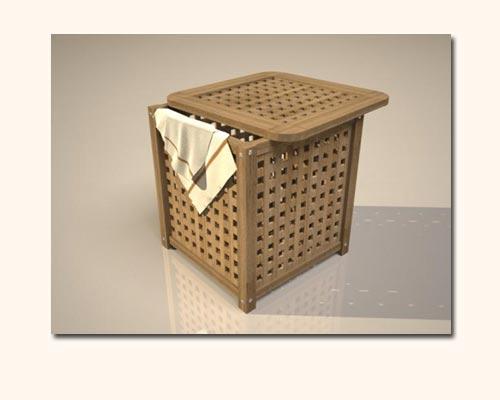 3D - корзина для белья